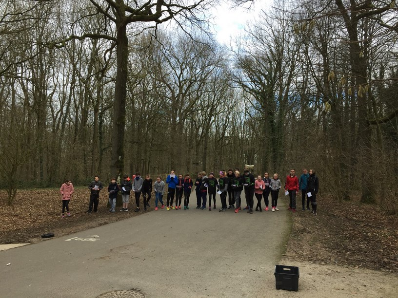 Raid course orientation Olhain 07022018 10